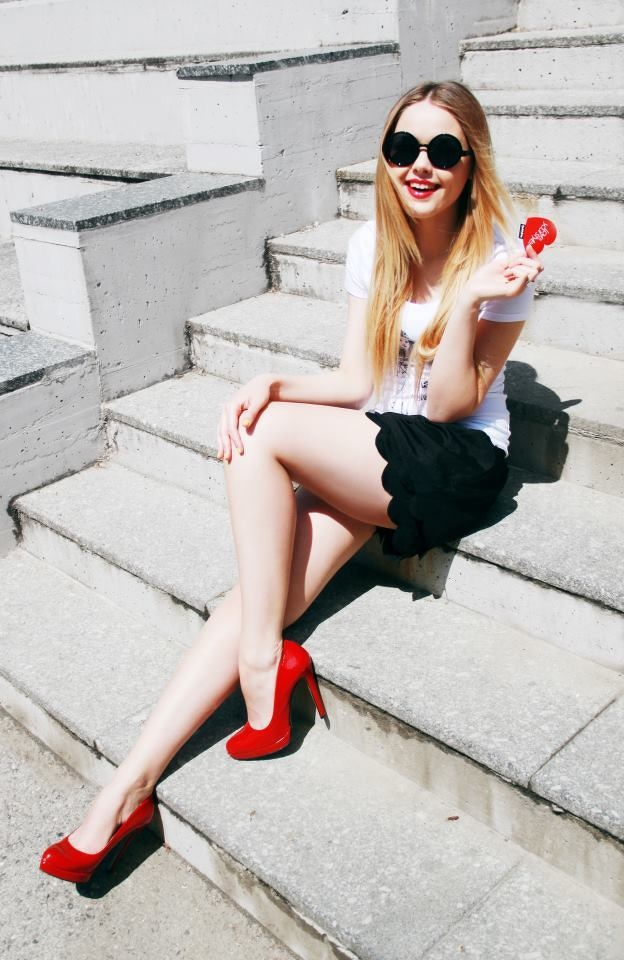 red shoes5
