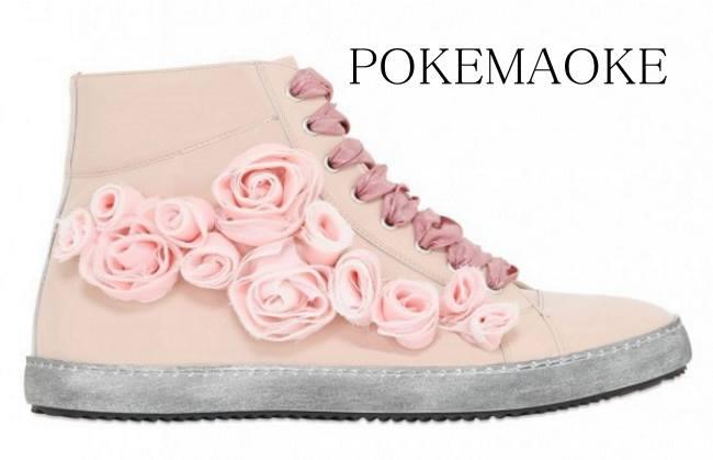 sneakers-in-vernice-rosa-quarzo-pokemaoke