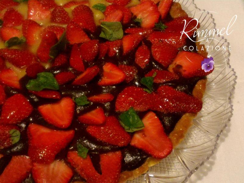 crostata veg di fragole