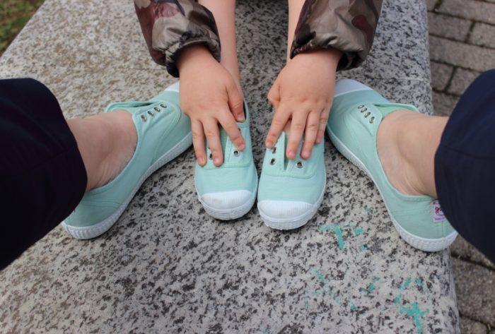 scarpe di tela