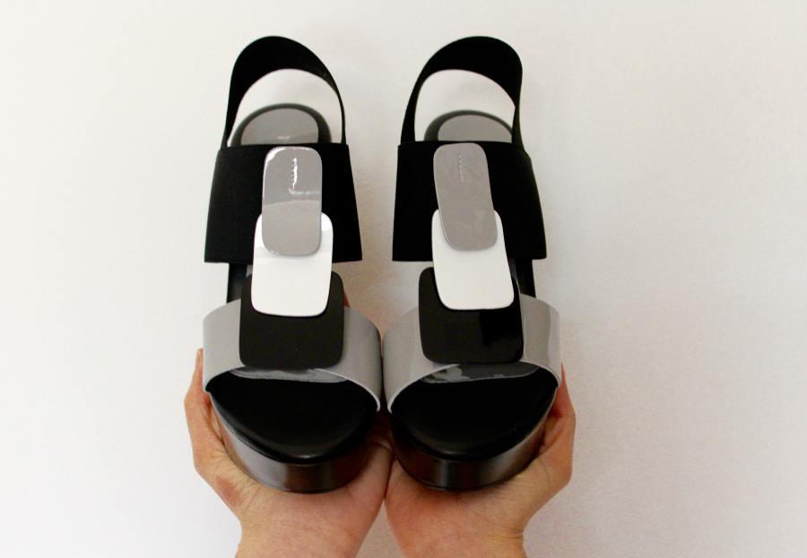 sandali con plateau rapisardi